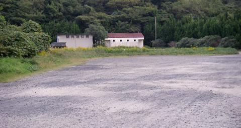 湯原海水浴場第2駐車場
