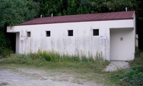 湯原海水浴場トイレ
