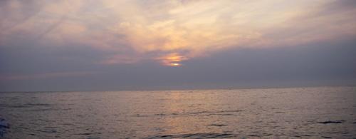 壱岐の夕焼け