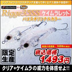 ジップベイツ リッジ35SSパゴスオリジナルカラー