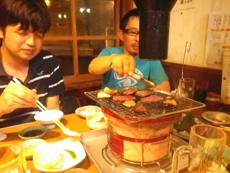 焼き肉ミーティング