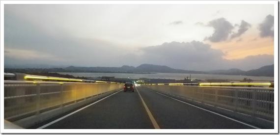 東洋一のPCラーメン橋「江島大橋」