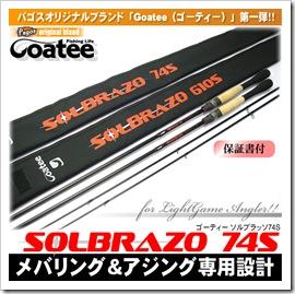 Goatee/ゴーティー/ソルブラッソ74S/パゴスオリジナル