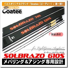 Goatee/ゴーティー/ソルブラッソ610S/パゴスオリジナル