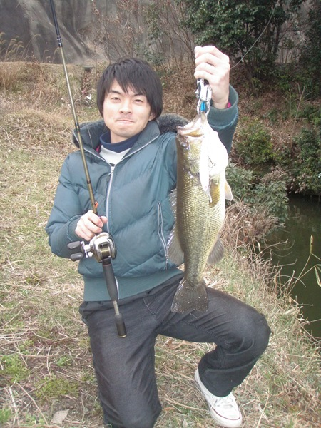 45cmバスと住田