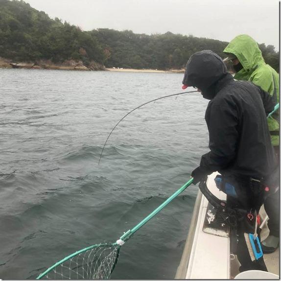 広島湾 岩国沖 ライトジギング サワラ ハマチ (17)