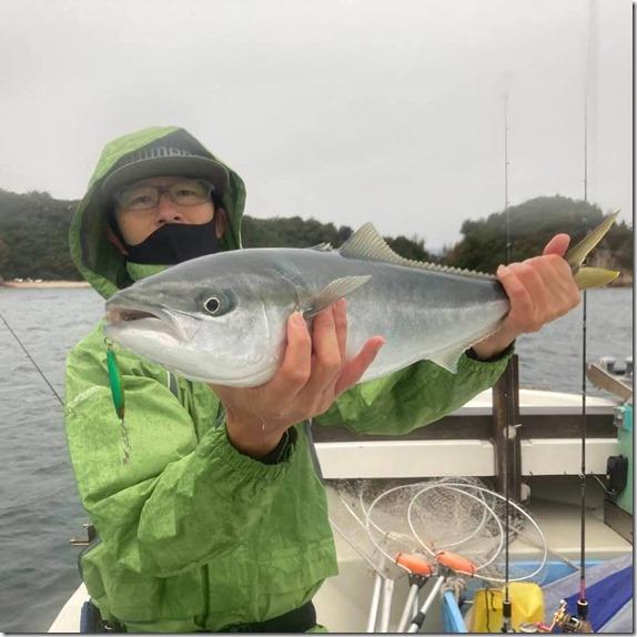 広島湾 岩国沖 ライトジギング サワラ ハマチ (6)