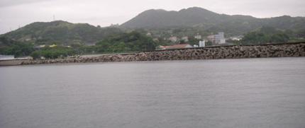 浜田川河口