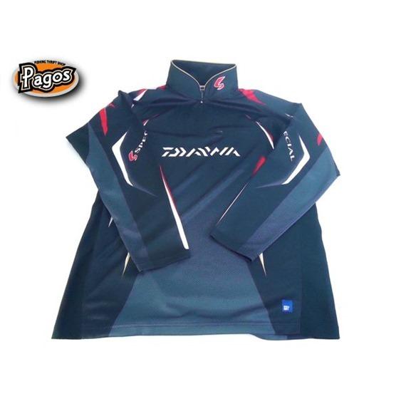 【中古釣具通販】ダイワ スペシャル アイスドライ ジップアップ長袖メッシュシャツ DE-7006 2XL ブラック